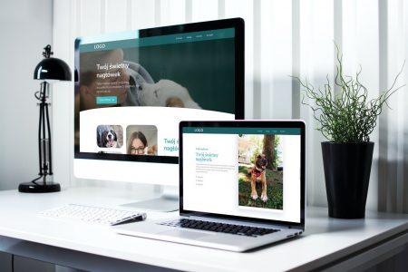 Gotowa strona internetowa dla przychodni weterynaryjnej, kliniki i weterynarzy