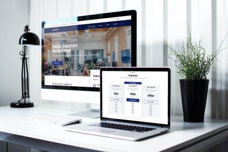 Gotowa strona internetowa dla firmy i przedsiębiorstwa