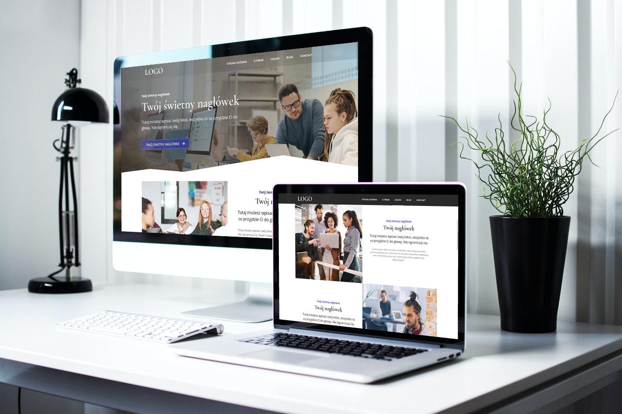 gotowa strona internetowa dla działalności gospodarczej