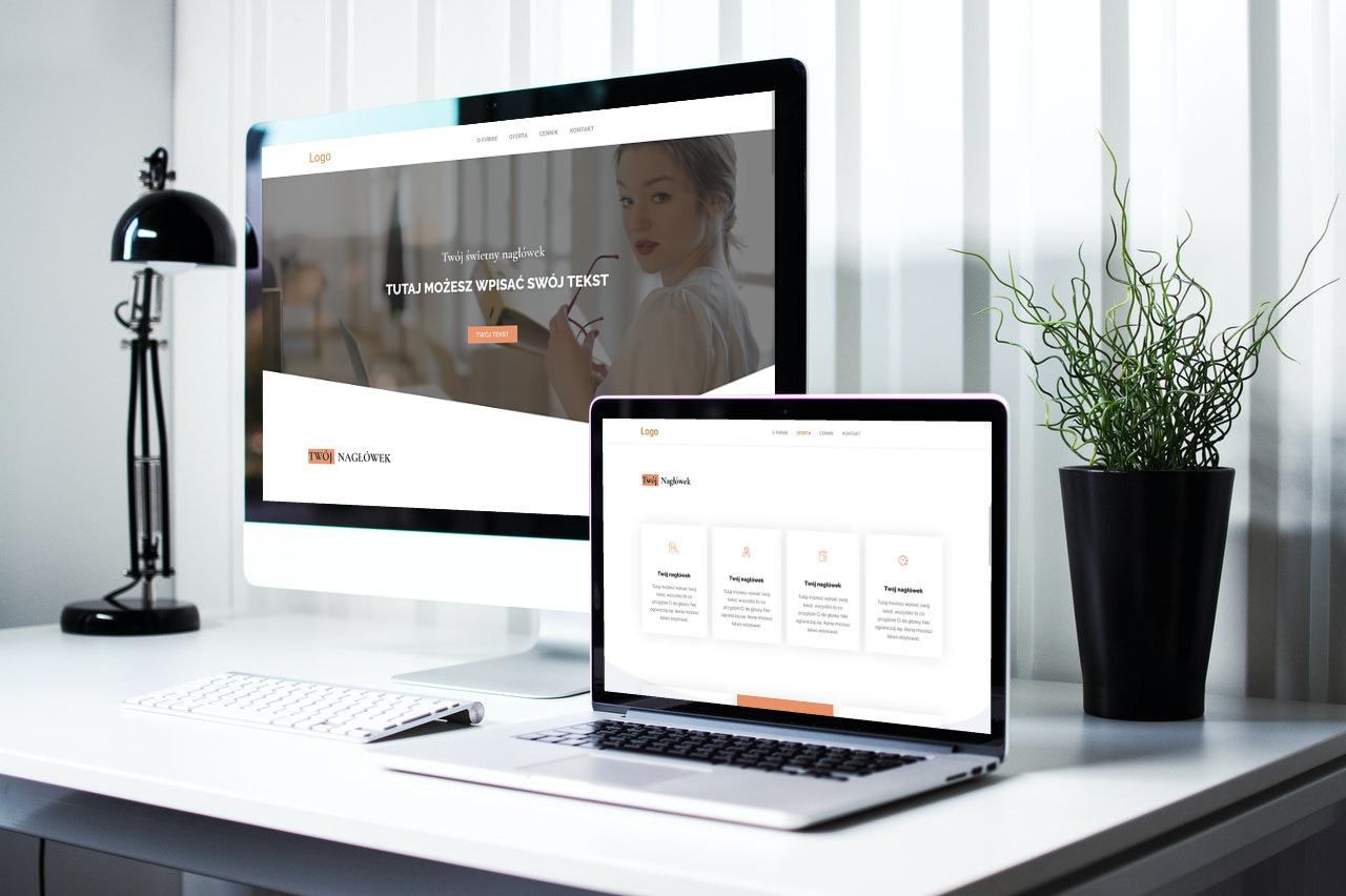Strona internetowa dla księgowego typu onepage