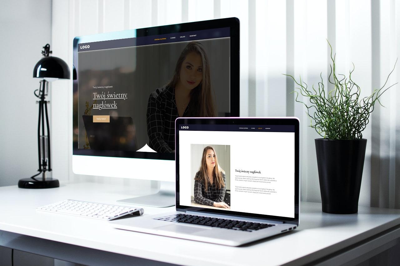 strona internetowa dla notariusza wygląd